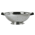 5-Quart Stainless Steel Footed Colander