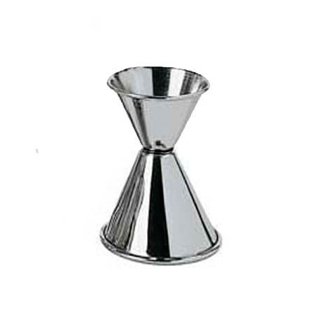 0.75 x 1.25 oz. Stainless Steel Jigger
