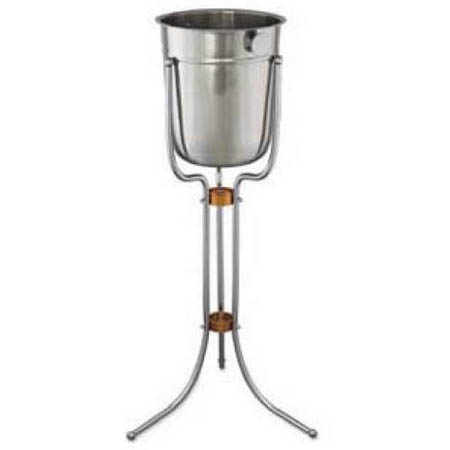 Update Chrome Plated Wine Bucket Stand