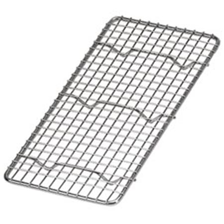 "1/3-Size Footed Wire Grate for Steam Table Pan 5"" x 10"""