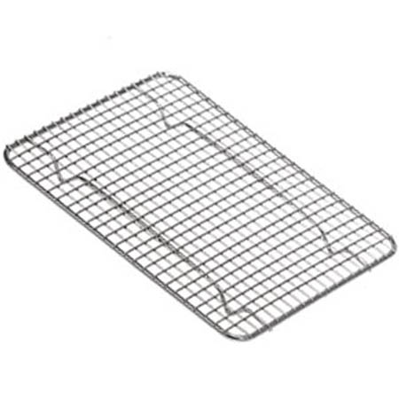 "1/2-Size Footed Wire Grate for Steam Table Pan 8"" x 10"""