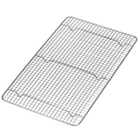 "Full Size Footed Wire Grate for Steam Table Pan 10"" x 18"""