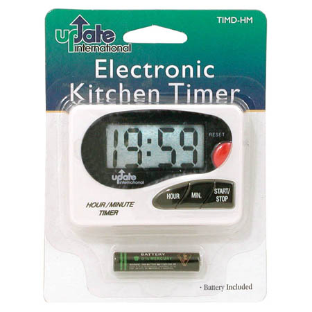 19-Hour Digital Timer with Pocket Clip