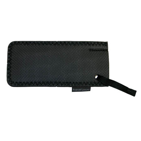 "6"" Black Neoprene Hot Handle Holder"
