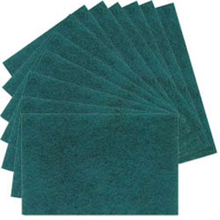 "6"" x 9"" Heavy Duty Scouring Pads 12-Pack"