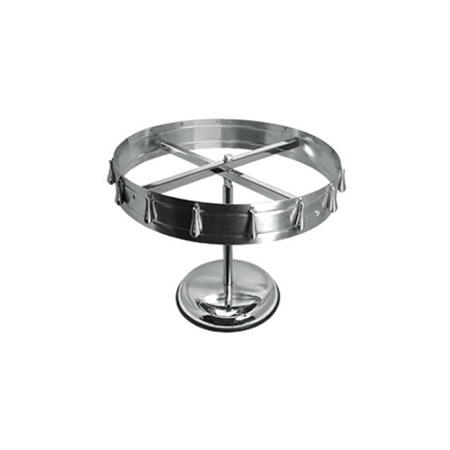 "16-Clip Stainless Steel Check Wheel 18-1/2"" Diameter"
