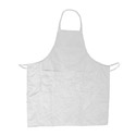 3-Pocket Economy Full Length White Bib Apron