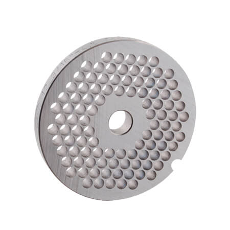 "3/16"" Grinder Plate for #10 Manual Meat Grinder and Meat Grinder Attachment for #12 Hub"