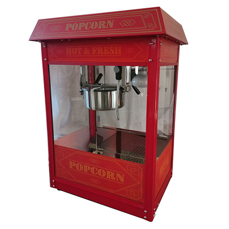 Festi'val 8 oz. Luxury Red Popcorn Popper