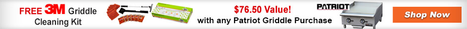 Best Seller Patriot Griddles with Free 3M Cleanign Kits