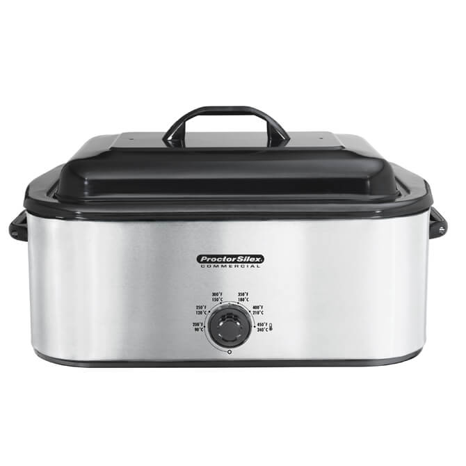 Proctor Silex 18 Quart Commercial Roaster Oven Warmer With Removable Pan