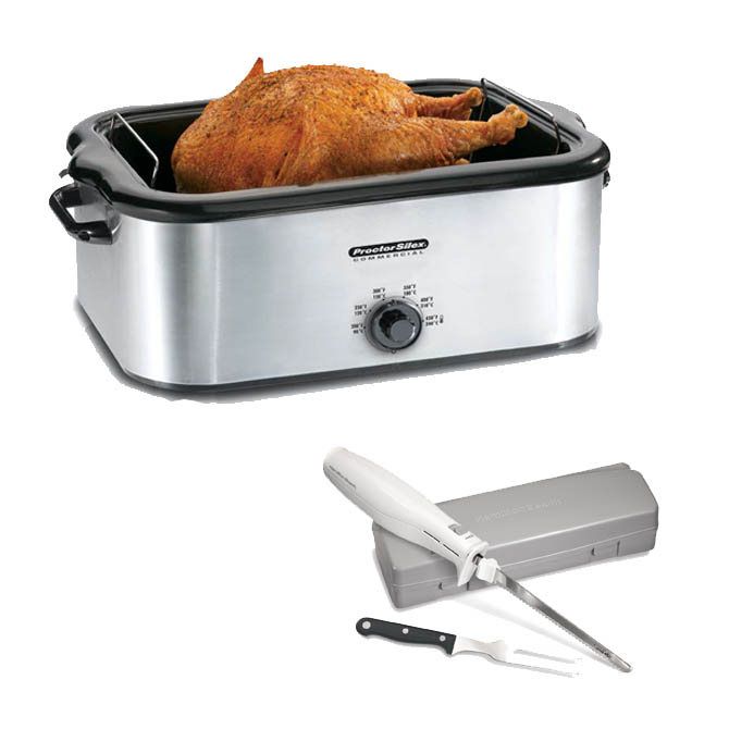 Proctor Silex 18 Quart Stainless Steel Roaster Oven With