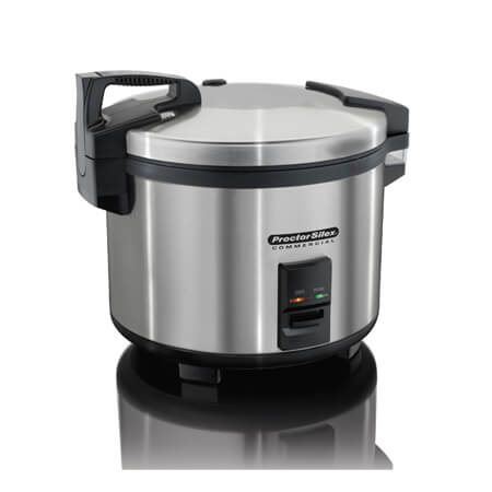 Proctor Silex 60-Cup Stainless Steel Electric Rice Cooker/Warmer