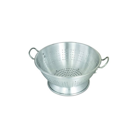 16-Quart Heavy Duty Aluminum Footed Colander