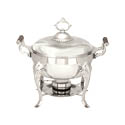 5-Quart Round Stainless Steel Chafer