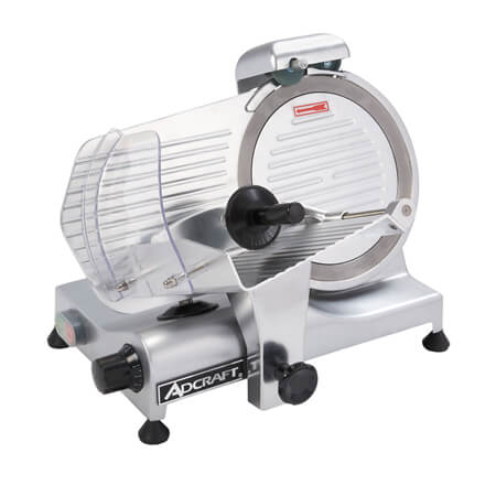 "Adcraft 10"" Gravity Feed Meat Slicer"