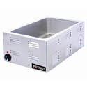 "Patriot Full Size Stainless Steel Countertop Food Warmer 14-1/2""W"