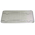 Footed Wire Grate for 1/2 Sized Sheet Pan 12\x22 x 16-1/2\x22