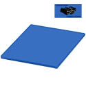 Blue Polyethylene Cutting Board for Cooked Food