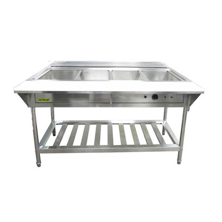"4-Well 208/240V Electric Hot Food Table 57""W"
