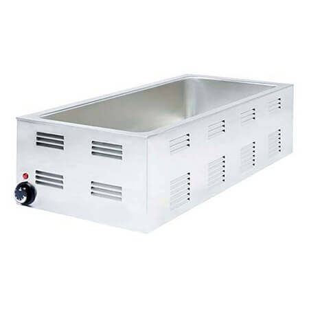 "Adcraft 28-Quart 4-Pan Countertop Food Warmer 14-1/2""W"