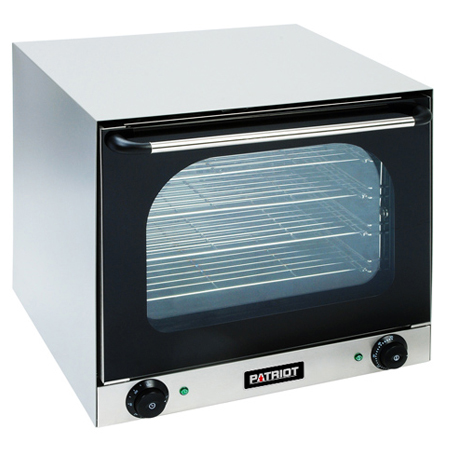 "Patriot Half Size 208/240V Electric Countertop Convection Oven 23-1/2""W"