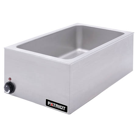 "Patriot Full Size Countertop Electric Food Cooker/Warmer 18-1/2""W"