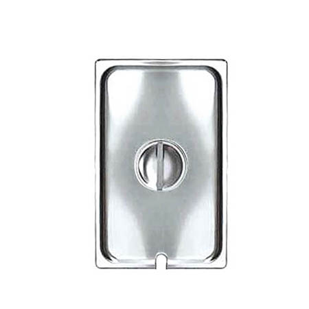 Slotted Cover for Full Size Stainless Steel Food Pan