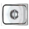 Solid Cover for 1/2-Size Stainless Steel Food Pan