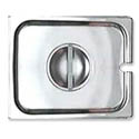 Slotted Cover for 1/2-Size Stainless Steel Food Pan