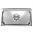 Solid Cover for 1/3-Size Stainless Steel Food Pan