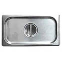 Solid Cover for 1/4-Size Stainless Steel Food Pan