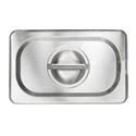 Solid Cover for 1/9-Size Stainless Steel Food Pan