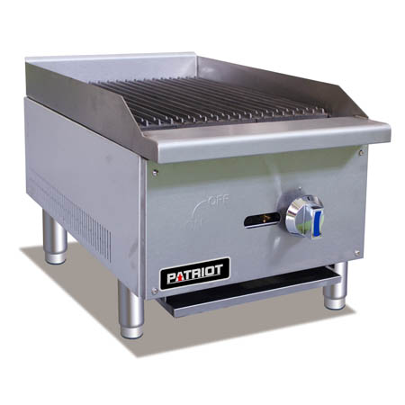 "Patriot Gas Radiant Charbroiler 16""W"