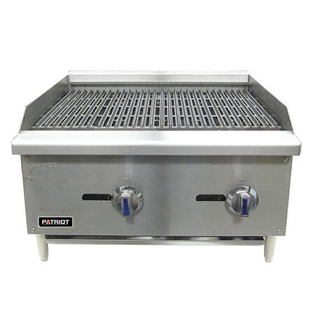 "Patriot 60,000 BTU Gas Radiant Charbroiler 24""W"