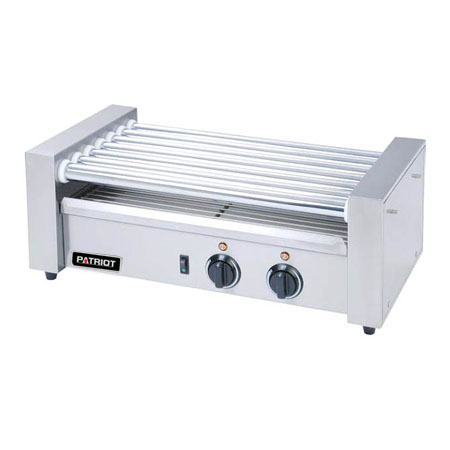 "Patriot 18 Hot Dog Roller Grill 22-3/4""W"