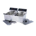 "Patriot 30 lb. Light Duty 120V Electric Countertop Fryer 21-3/4""W"