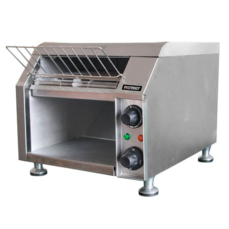 "Patriot 300 Slices/Hour Conveyor Toaster 10""W Belt"