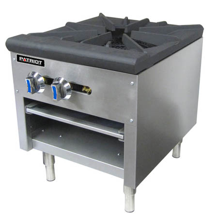 "Patriot 80,000 BTU Gas Stock Pot Range 18""W"