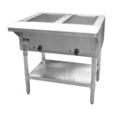 2-Well 120V Electric Hot Food Table 33\x22W