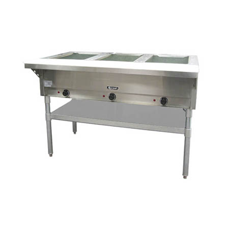 "3-Well 120V Electric Hot Food Table 48-1/2""W"
