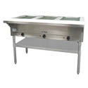 3-Well 120V Electric Hot Food Table 48-1/2