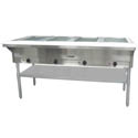 4-Well 208/240V Electric Hot Food Table 63-3/4