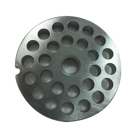 Coarse Grinder Plate for 1 HP #12 Meat Grinder