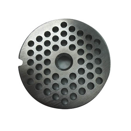 Medium Grinder Plate for 1 HP #12 Meat Grinder