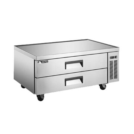 "Berg 11 cu. ft. 2-Drawer Refrigerated Chef Base 52""W"