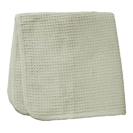 "18"" x 18"" Natural Cotton Cleaning Cloth 12-Pack"