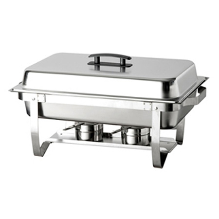 Bradford Hall 8-Quart Full Size Stainless Steel Chafer