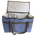 Blue Nylon Insulated Food Delivery Bag 22\x22L x 12\x22W x 12\x22H