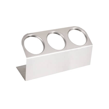 Steril-Sil 3-Hole Flatware Cylinder Holder